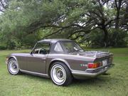 1971 TRIUMPH tr-6 Triumph TR-6 Convertible